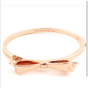 NEW Kate Spade Love Notes Take A Bow Bracelet